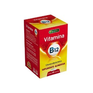 Cianocobalamina - Vitamina B12  60Caps  Ourifito