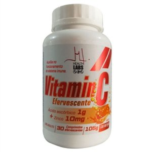 VITAMINA C ZINCO 30cpr efer - VITAMIN C  HEALTH