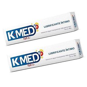 Lubrificante K-MED Gel Intimo 50g (kit c/02)