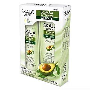 Kit Shampoo+Condicionador Skala Expert Bomba Abacate 325ml