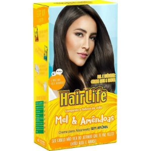 Alisante HairLife Mel e Amendoas