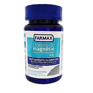 Cloreto De Magnésio PA 60 Cápsulas Farmax