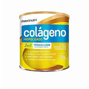 Colageno Hidrolisado 2 .1 Manga Maracuja 250gr - Maxinutri