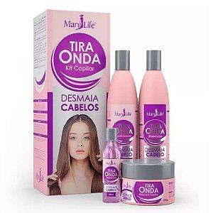 Kit Capilar Mary Life Tira Onda Sh+Cond+Mascara+Reparador