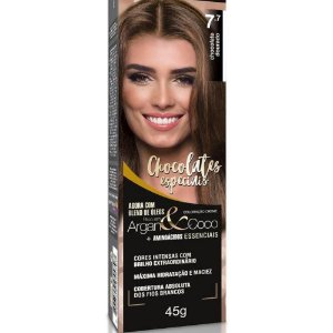 Tintura Beauty Color Bisnaga Nova 7.7 Chocolate Dourado