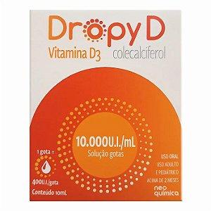 COLECALCIFEROL 10.000 10ml - DROPY D  NEO QUIMICA