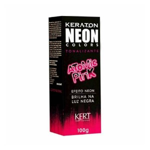 Tonalizante Keraton Neon Colors Atomic Pink 100g