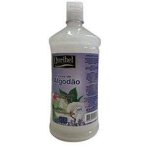 Ouribel Sabonete Líquido 1 Litro Flores de Algodão
