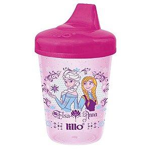 Copo Lillo Frozen Antivazamento 207mL Rosa Ref.:303331