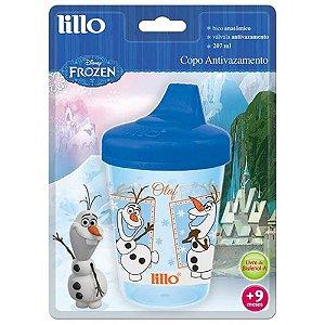 Copo Lillo Frozen Antivazamento 207mL  Azul Ref.:303321