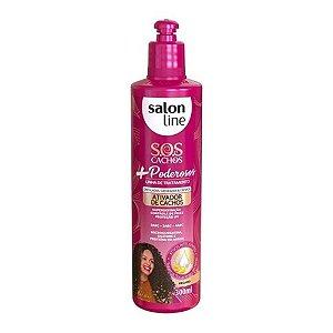 Salon Line Ativador de Cachos SOS Cachos + Poderosos 300mL
