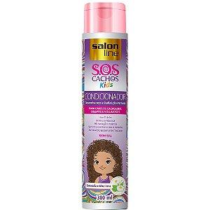 Salon Line Condicionador SOS Cachos Kids 300mL
