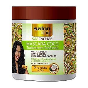 Máscara de Tratamento Salon Line SOS Cachos Coco 500g