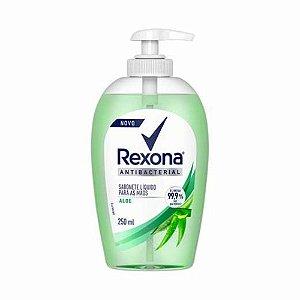 Sabonete Rexona Liquido Para Mãos Antibacterial Aloe 250ml
