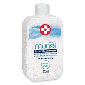 Álcool Gel Higienizante  70% Muriel 300ml