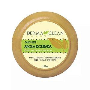 Sabonete Argila Dourada 110g Derma Clean
