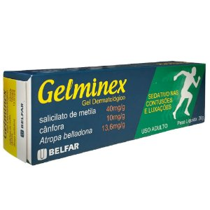 GELMINEX GEL 20gr Belfar