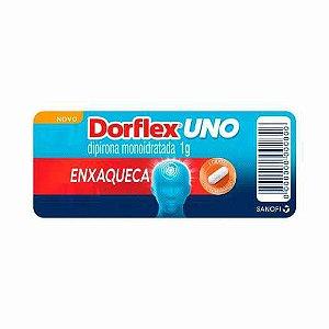 DORFLEX UNO ENXAQUECA 1G 4CPR Cartela SANOFI