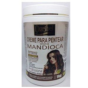 Ouribel Creme p/ Pentear 1kG Extrato de Mandioca