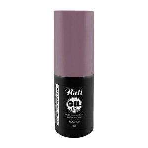 Esmalte Nati Gel Rosa Top 9ml