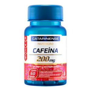 CAFEINA 200MG 60CAPS CATARINENSE
