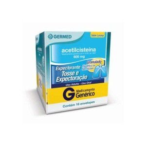 ACETILCISTEINA 600MG 16ENV (GERMED)