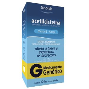 Acetilcisteina XPE PED 120ml - Geolab