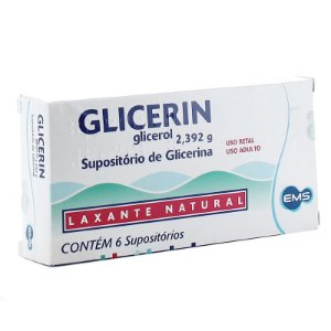 SUPOSITORIO GLICERIN Adulto 6 un