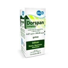 Escopolamina - DORSPAN GTS