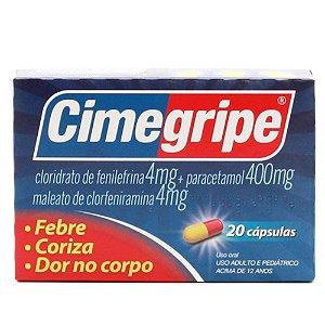 PARACETAMOL+ ASS - CIMEGRIPE 20CPS