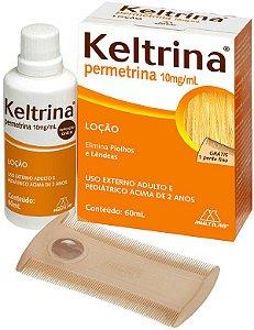 Permetrina 1% Loção 60ml  Keltrina