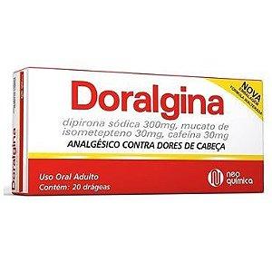 DORALGINA 20DRG - NEO QUIMICA