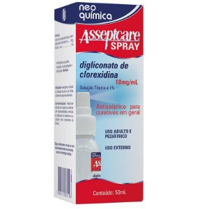 CLOREXIDINA - ASSEPTCARE SPRAY 50ML
