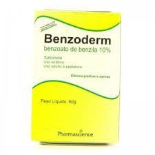 Benzoato de Benzila - BENZODERM SAB 60GR