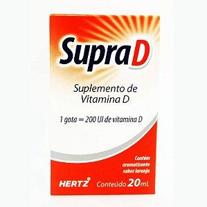 COLECALCIFEROL - SUPRA D 20ML