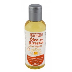 Oleo de Girassol 120ml Farmax