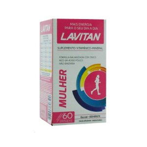 Lavitan Mulher 60Cpr Rev- Cimed