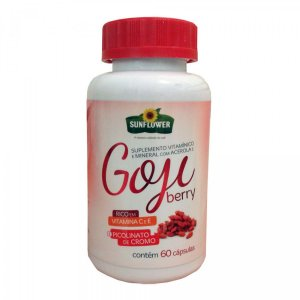 Goji Berry SunFlower 600mg 60cps