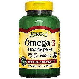 Omega 3 1g 120 Caps Gelatinosas MAXINUTRI