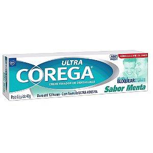Corega Ultra Creme Menta 40gr