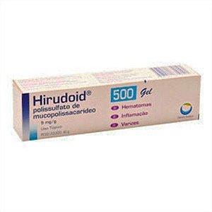 HIRUDOID 500MG GEL 40GR
