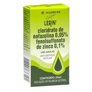Nafazolina - LERIN 24ML