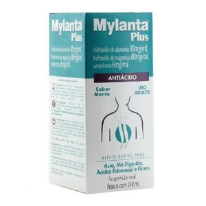 MYLANTA PLUS TRAD MENTA  240ML