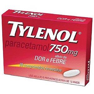 Paracetamol - Tylenol 750mg  20CPR
