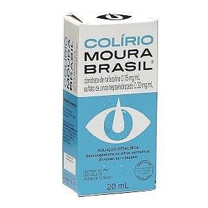 Nafazolina - COLIRIO MOURA BRASIL 20 ML