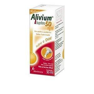ALIVIUM - IBUPROFENO GTS 50MG 30ML -