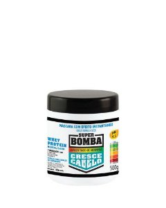 Máscara Muriel Super Bomba Whey Protein 500grs