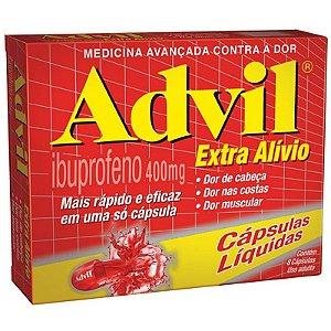 ADVIL EXTRA ALIVIO 400MG 8cps - Ibuprofeno