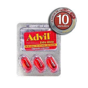 ADVIL EXTRA ALIVIO 400MG 3caps -  Ibuprofeno