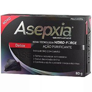 Asepxia Sabonete Detox Acao Purificante 80g